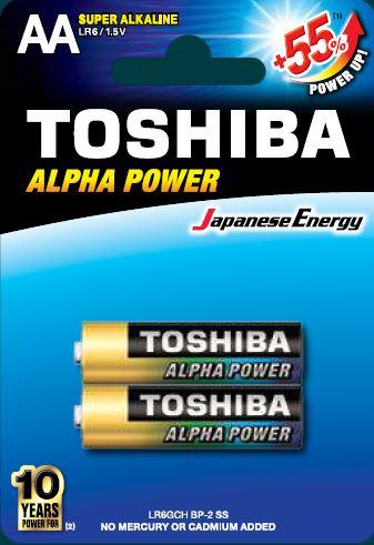 Toshiba LR6 BP2 Super Alkaline