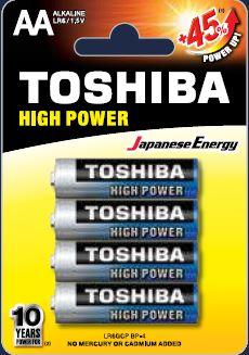 Toshiba LR6 BP4 HP