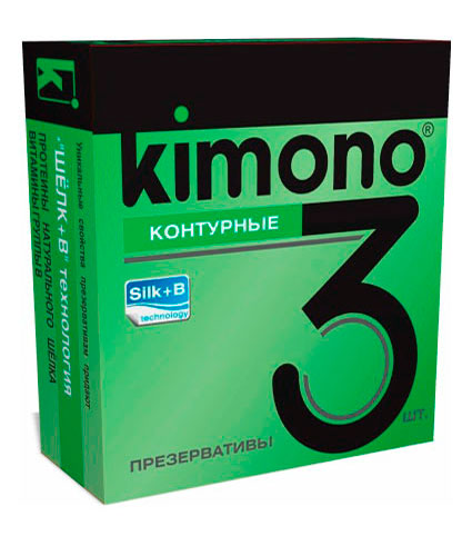 кимоно №3 контурные